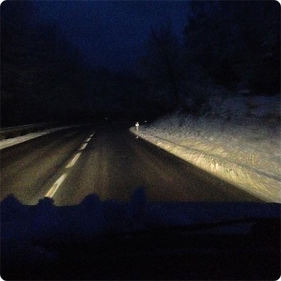 12 von 12 - Februar 2014 - verschneites Sauerland