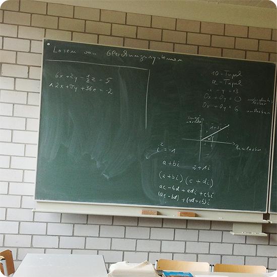 12 von 12 - Februar 2014 - Mathe - Vektorrechnung