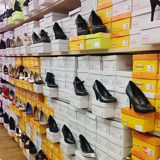 12 von 12 - Dezember 2014 - Schuhe kaufen kann auch schnell gehen