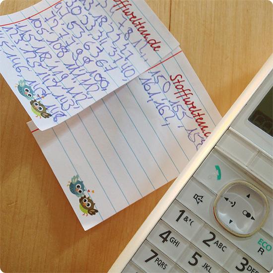 12 von 12 - Januar 2014 - REWE Sammelsticker - Anruf - Oma