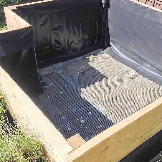 12 von 12 - Juni 2014 - Hochbeet - DIY - selbstgemacht - leer
