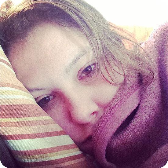 12 von 12 - Februar 2014 - ich - müde - Pause - Selfie