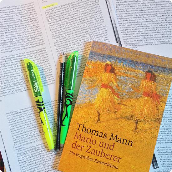 12 von 12 - Januar 2014 - Schule - Thomas Mann - Abitur - Fachabi