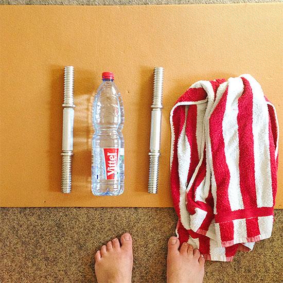 12 von 12 - Juni 2014 - Workout - 30 Day Shred - Schlank in 30 Tagen - Sport