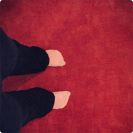12 von 12 - März 2014 - Gammelhose für Zuhause - Jogginghose - gammeln
