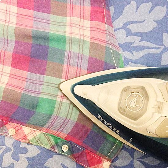 12 von 12 - November 2014 - Bluse bügeln