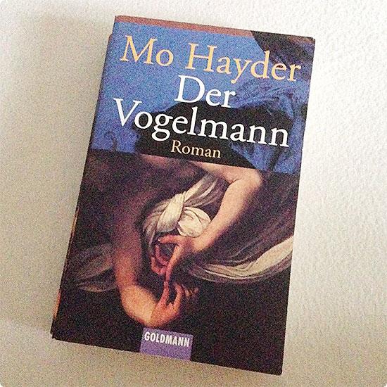 12 von 12 - September 2014 - Der Vogelmann von Mo Hayder