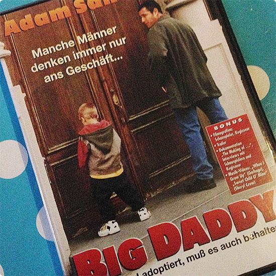 12 von 12 - September 2014 - DVD Big Daddy