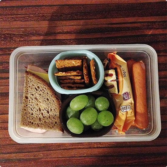 12 von 12 - März 2015 - Brotdose ohne Formbrote