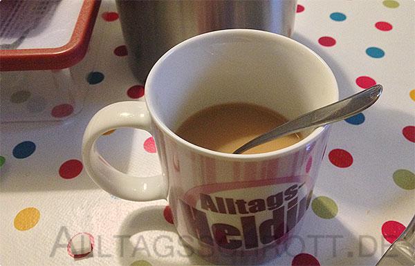 12 von 12 - Novemberi 2015 - der erste Kaffee am Morgen