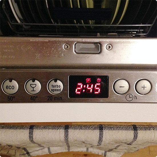 12 von 12 - Januar 2015 - Spülmaschine anstellen