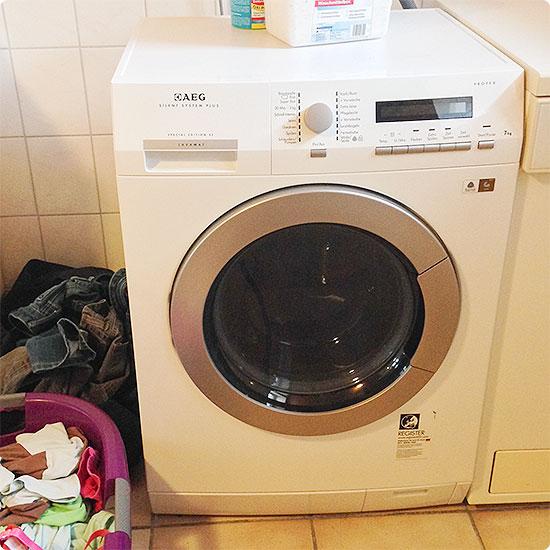 12 von 12 - Mai 2015 - Waschmaschine - Wäsche waschen