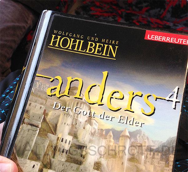 12 von 12 - Novemberi 2015 - Lesen - die Anders-Saga - Hohlbein
