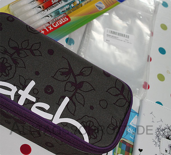 12 von 12 - August 2015 - Schlamperbox, Tintenkiller, Handyhülle - die Pakete sind da