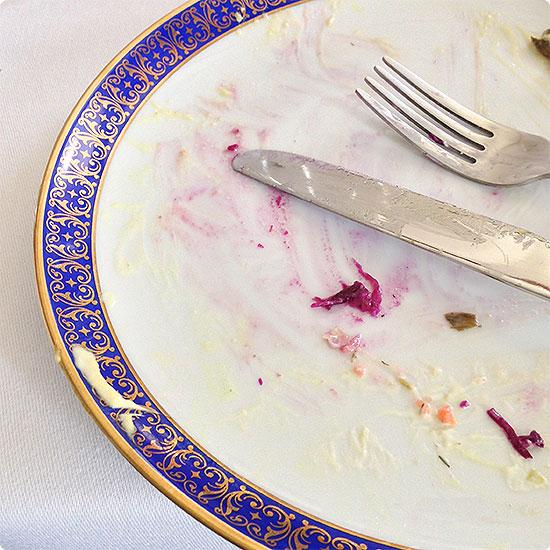 12 von 12 - April 2015 - leerer Teller