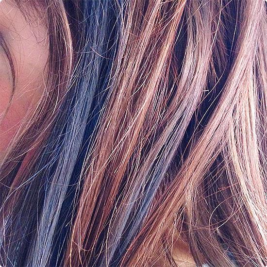 12 von 12 - Februar 2015 - bunte Haare zu Karneval