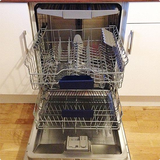 12 von 12 - Februar 2015 - Spülmaschine ausgeräumt