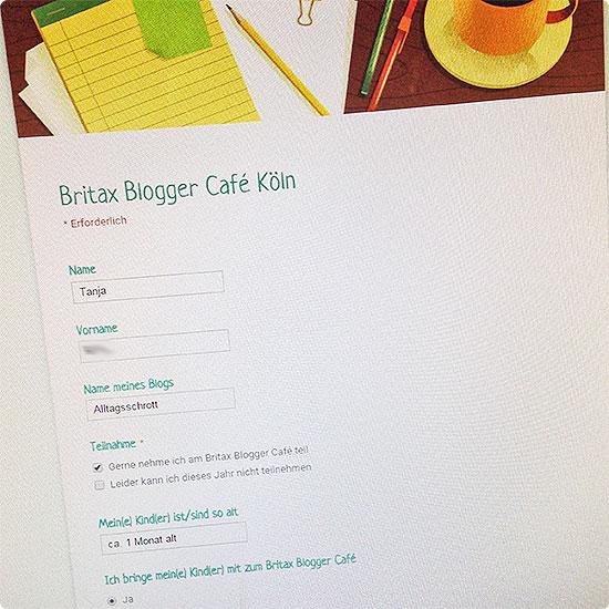 12 von 12 - Mai 2015 - Anmeldung zum Blogger-Café