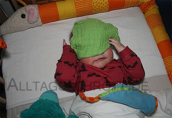 12 von 12 - Dezember 2015 - das Baby geht schlafen