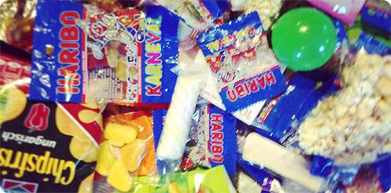 7 Tage - 7 Bilder | KW#10 | Süßigkeiten vom Karnevalszug