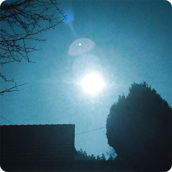 7 Tage - 7 Bilder | KW#11 | Sonne - Sonnenschein