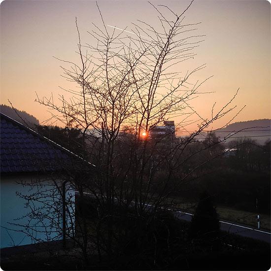 7 Tage - 7 Bilder | KW#11 | Sonnenuntergang