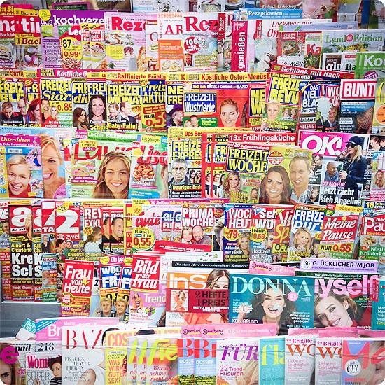 7 Tage - 7 Bilder | KW#13 | auf der Suche nach einer Zeitschrift