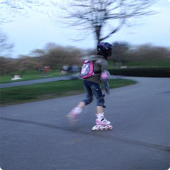 7 Tage - 7 Bilder | KW#13 | Inline-Skating in der Rheinaue in Bonn