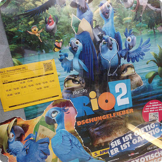7 Tage - 7 Bilder   KW#16   Rio 2 im Kino gesehen