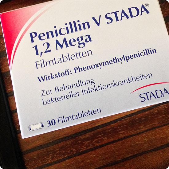 7 Tage - 7 Bilder | KW#17 | Penicillin gegen eitrige Angina
