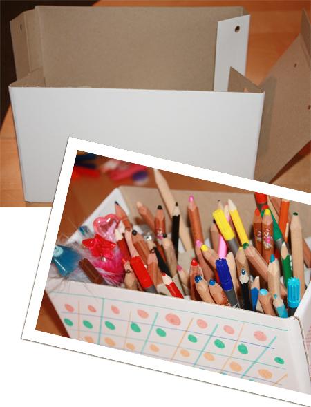 Stifteköcher - vorher/nachher