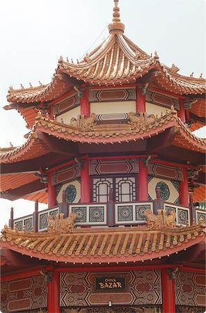 Ausflug ins Phantasialand - Chinatown