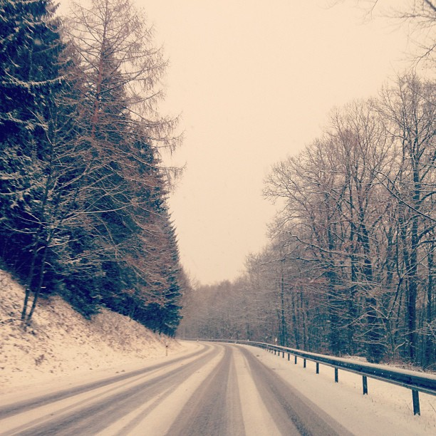 Schnee - 14.01.2013