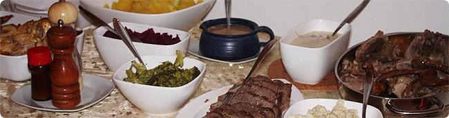 Heiligabend 2013 - das Menü