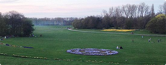 Jahresrückblick - März 2014 - Rheinaue - Ausblick - Bonn