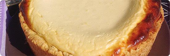 Käsekuchen zum Geburtstag