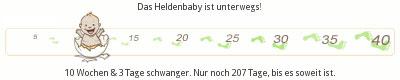 Schwangerschaft - Baby - Ultraschall - 10+3 - 11. Woche
