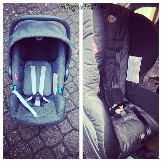 Kindersitze - Babyschale - Reboarder - Römer
