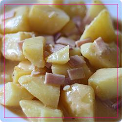 Kartoffel-Schinken-Auflauf