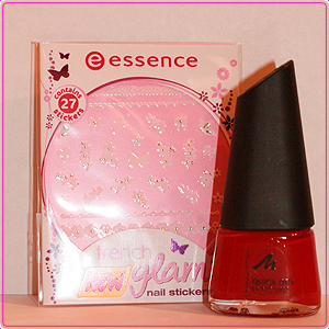 Gewinnspiel - MANHATTAN Nail Polish - essence nail stickers