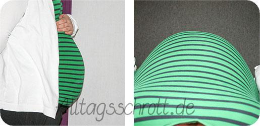 9. Schwangerschaftsmonat - 34. Schwangerschaftswoche - Babybauch - Foto