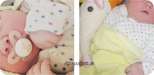 Geburtsbericht - Heldenbaby - erste Fotos