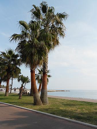Nizza, der erste Blick auf's Meer