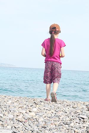 Die Prinzessin am Strand - Nizza