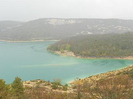 Park Naturel du Verdon bei Regen