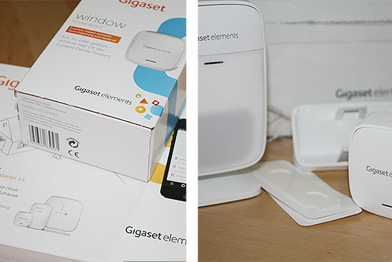 Gigaset elements safety starter kit im test - das Paket ist da