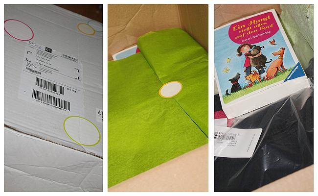 tausendkind - das Paket ist da