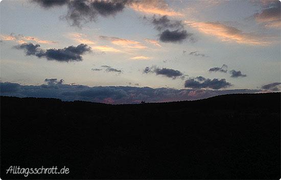 Wochenende in Bildern - Sonnenuntergang