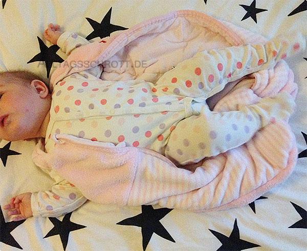 Wochenende in Bildern - Baby in rosa