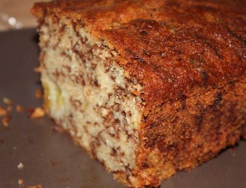 Rezept: Rhabarber-Schoko-Kuchen